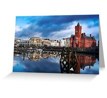 Cardiff Bay Greeting Card