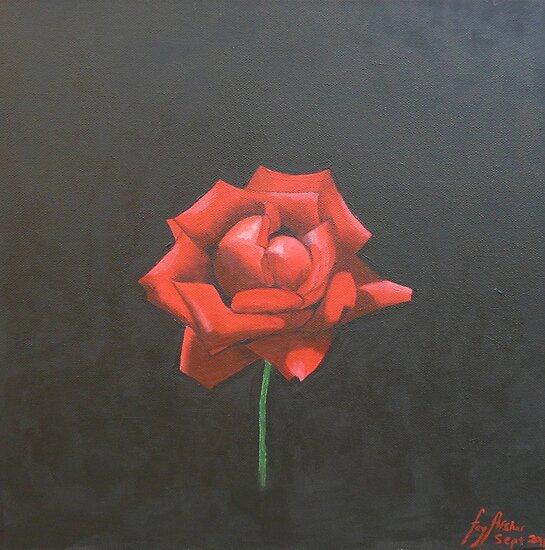 Rose by fayafshar