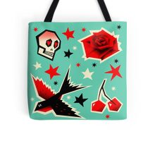 Swallow the cherry Tote Bag