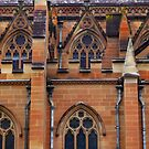 cathedral wall by manda76