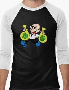 Community Dean with Money Men's Baseball ¾ T-Shirt