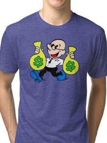 Community Dean with Money Tri-blend T-Shirt