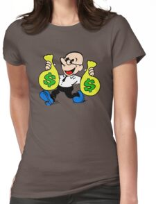 Community Dean with Money Womens Fitted T-Shirt