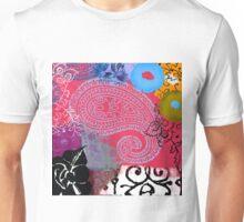 Bali III Abstract Fine Art Collage Unisex T-Shirt