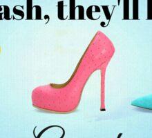 Grand Shoes Sticker