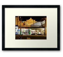 Film Shop Framed Print