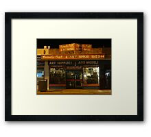 Art Supplies Framed Print