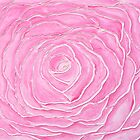 "Rose Water - Acrylic Paint - 36"" by 24"" by fayafshar"