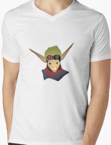 Jak  Mens V-Neck T-Shirt