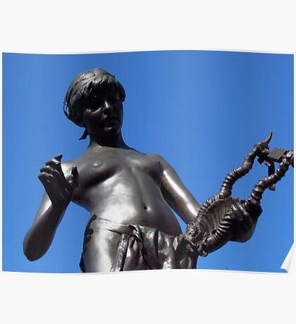 Christopher Marlowe Memorial Statue Poster