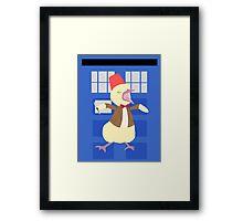 12th Ducktor Framed Print