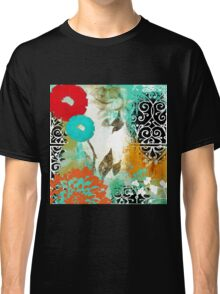 Bali I Abstract Collage Fine Art Classic T-Shirt