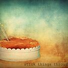 Stick Things Through by Lea  Weikert