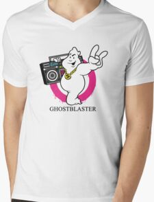 Ghostblaster Mens V-Neck T-Shirt