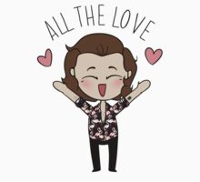 HARRY :: ALL THE LOVE  Kids Tee