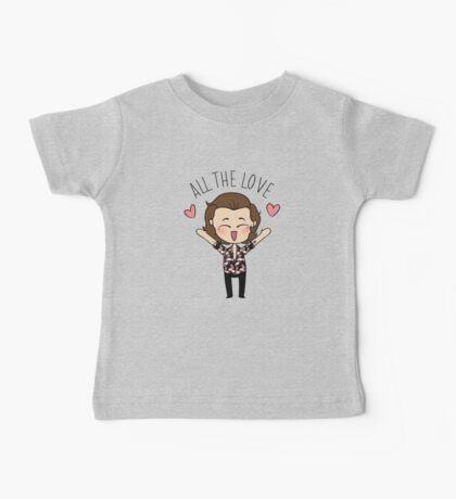 ALL THE LOVE  Baby Tee