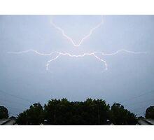 Lightning Art (1) Photographic Print