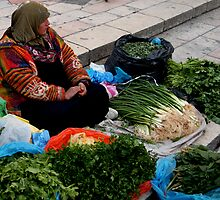 Market Lady by Marius Brecher