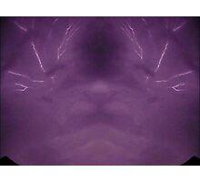 Lightning Art 2 Photographic Print