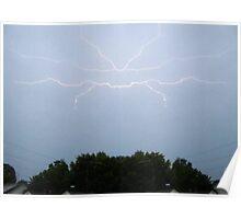 Lightning Art 3 Poster