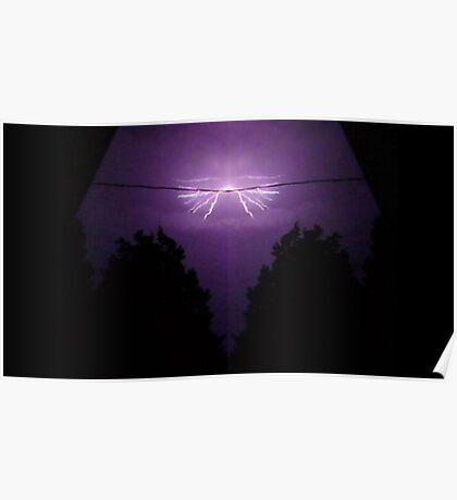 Lightning Art 4 Poster