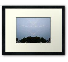 Lightning Art 5 Framed Print