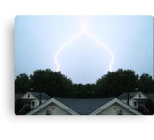Lightning Art 6 Canvas Print