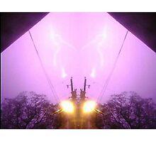 Lightning Art 7 Photographic Print