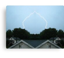 Lightning Art 8 Canvas Print
