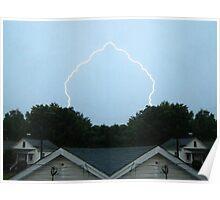 Lightning Art 8 Poster