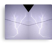 Lightning Art 10 Canvas Print