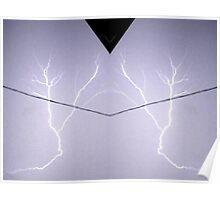 Lightning Art 10 Poster