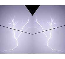 Lightning Art 10 Photographic Print