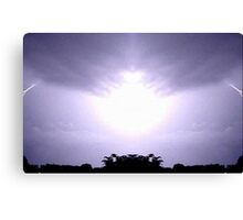 Lightning Art 12 Canvas Print