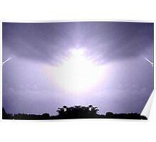Lightning Art 12 Poster