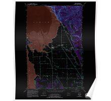 USGS Topo Map Washington State WA Bow 240181 1954 24000 Inverted Poster