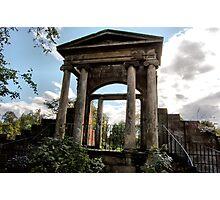 Linthouse Portico Photographic Print