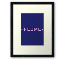 Flume Framed Print