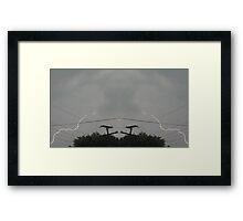 Lightning Art 14 Framed Print