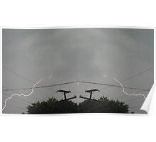Lightning Art 14 Poster