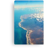 Land, sea and sky Canvas Print