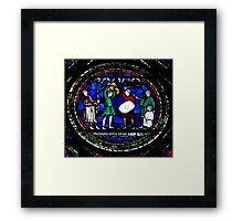 Medieval Fight Framed Print