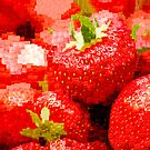 Strawberry Mosaic by Anne Gilbert