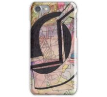 Abstract Watercolor+Pen iPhone Case/Skin