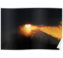Setting Suns Illuminating Beauty Poster