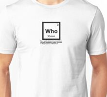 Whoium - The Doctor Who Element Unisex T-Shirt