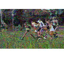 031012 107 0 pointillist lacrosse Photographic Print