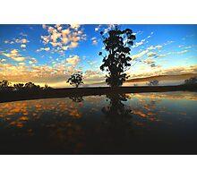 """"""" Delegate River Sun Rise """" Photographic Print"""