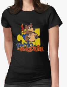 Banjo Kazooie Womens Fitted T-Shirt