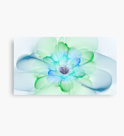 Peacock Pastel Canvas Print